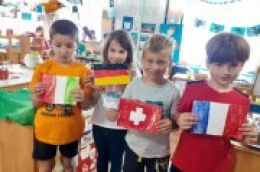 Mališani vrtića Tamaris obilježili Dan Europe: Budućnost Europe ovisi o zdravom planetu!