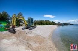 Vodičke plaže su spremne, valjda će biti i turista na njima: Grad za njihovo uređenje izdvojio 500 tisuća kuna