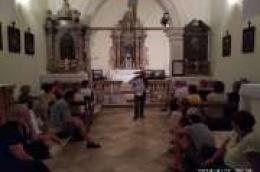 Glagoljica na otoku Prviću: Predavanje u Prvić Šepurini o 160. obljetnici osnutka župe