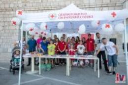 Prigodnim druženjem ispred Gradske knjižnice Vodice obilježen Svjetski dan darivatelja krvi