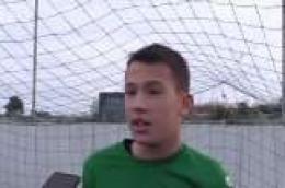 Mladi vratar NK Vodica Dorian Klarin pozvan u Selekciju Dalmacije