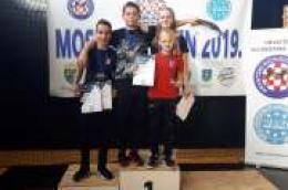"""Na međunarodnom turniru """"Moslavac Open 2019"""" četiri mlada Tae kwon do borca osvojila vrijedna odličja"""
