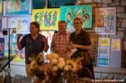 U sklopu Vodice street festivala otvorena izložba novih radova Roke Ivande