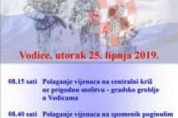 Polaganje vijenaca povodom Dana državnosti