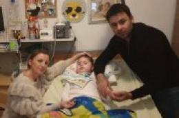 Maleni Petar odlazi po 4. dozu spinraze koja je već lagano počela zaustavljati progresiju bolesti
