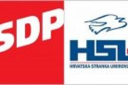 Reagiranje na koalicijski sporazum SDP - HSU